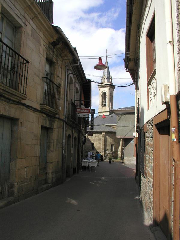 Cacabelos, Calle Santa María